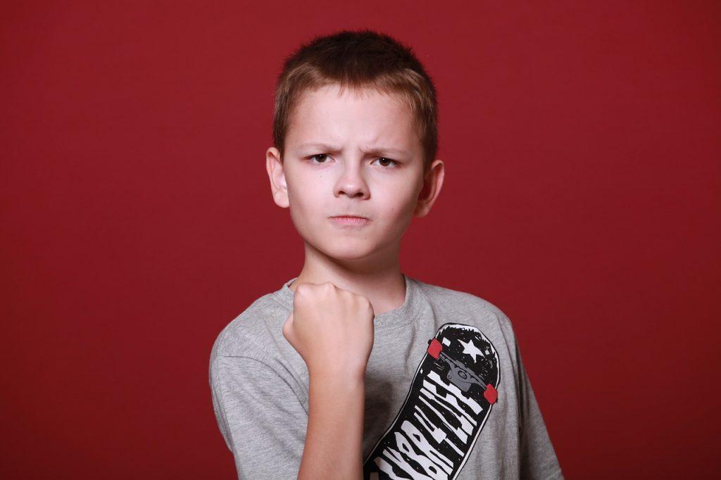aggressività nei bambini