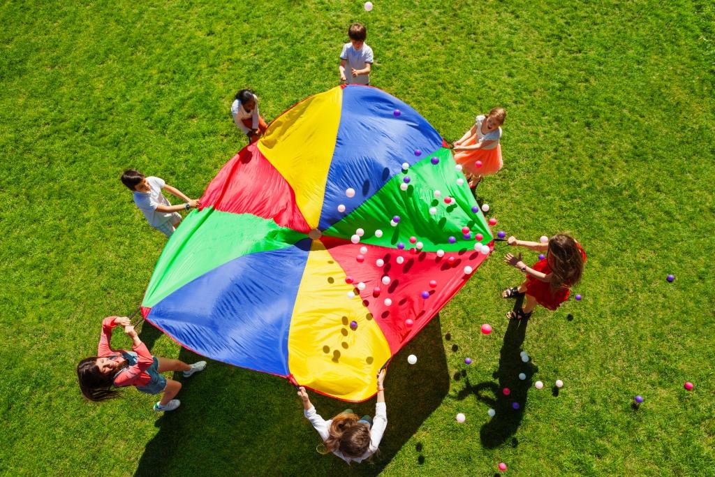 Giochi in movimento all'aperto: un toccasana per tutti