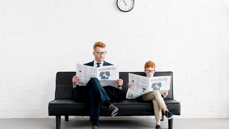 Bambini in ufficio